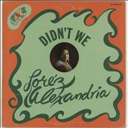 Click here for more info about 'Lorez Alexandria - Didn't We'