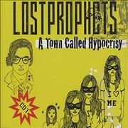 Lostprophets A Town Called Hypocrisy UK 2-CD single set
