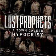 Lostprophets A Town Called Hypocrisy UK CD single Promo