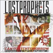 Lostprophets Can't Catch Tomorrow UK 2-CD single set