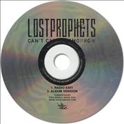 Lostprophets Can't Catch Tomorrow UK CD-R acetate Promo