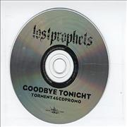 Lostprophets Goodbye Tonight UK CD single Promo