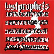 "Lostprophets Last Summer UK 7"" vinyl"