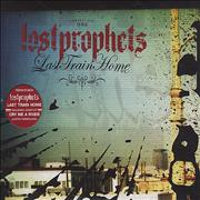Lostprophets Last Train Home UK 2-CD single set