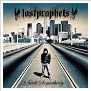Lostprophets Start Something UK CD album
