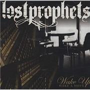 Lostprophets Wake Up (Make A Move) USA CD single Promo