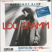 Click here for more info about 'Lou Gramm - Midnight Blue - White label'