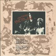 Click here for more info about 'Lou Reed - Berlin - 180gm'