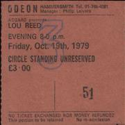 Click here for more info about 'Lou Reed - Hammersmith Odeon 1979'