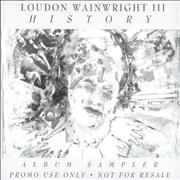 Click here for more info about 'Loudon Wainwright III - History - Album Sampler'