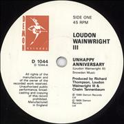 Click here for more info about 'Loudon Wainwright III - Unhappy Anniversary'