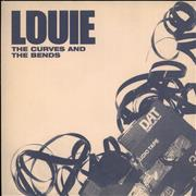 Click here for more info about 'Louie - The Curves And The Bends - Blue vinyl'