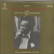 Click here for more info about 'Louis Armstrong - Here Is Louis Armstrong At His Rare Of All Rarest Performances Vol. 1'