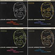 Click here for more info about 'Louis Armstrong - Louis Armstrong - His Greatest Years Volume 1 - 4'