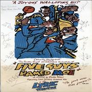 Click here for more info about 'Five Guys Named Moe - autographed poster'
