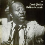 Click here for more info about 'Louis Jordan - I Believe In Music'