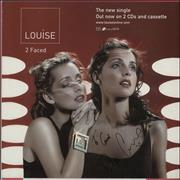 Click here for more info about 'Louise - 2 Faced + PR & Signed Display'