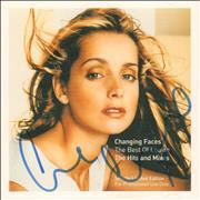 Click here for more info about 'Changing Faces - The Best Of Louise - Autographed'