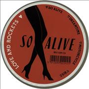 Click here for more info about 'Love & Rockets - So Alive - Tin'