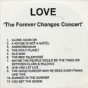 Click here for more info about 'Love - The Forever Changes Concert'