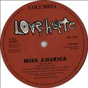 Click here for more info about 'Love/Hate - Miss America'