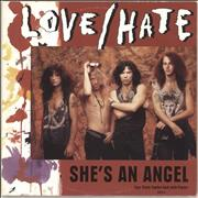 Click here for more info about 'Love/Hate - She's An Angel - Poster Sleeve'