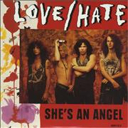 Click here for more info about 'Love/Hate - She's An Angel'