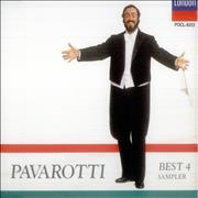 Click here for more info about 'Luciano Pavarotti - Best 4 Sampler'