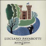 Click here for more info about 'Luciano Pavarotti - Leeds Castle'