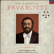Click here for more info about 'Luciano Pavarotti - The Essential Pavarotti - Stickered sleeve'