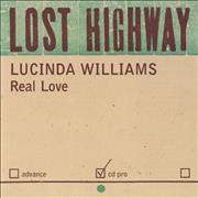 Click here for more info about 'Lucinda Williams - Real Love'