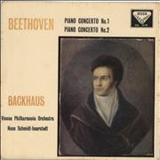 Click here for more info about 'Wilhelm Backhaus - Beethoven: Piano Concerto No.1 / Piano Concerto No.2 - EX'