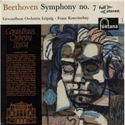 Ludwig Van Beethoven Beethoven: Symphony No. 7 UK vinyl LP