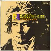 Click here for more info about 'Ludwig Van Beethoven - Hammerklavier Sonata In B Flat Op. 106 - boxed label'