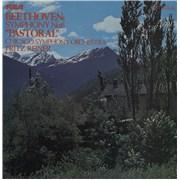 Ludwig Van Beethoven Pastoral UK vinyl LP