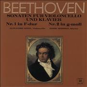 Click here for more info about 'Ludwig Van Beethoven - Sonatas for Cello and Piano Op. 5 No. 1 in F major, No. 2 in G minor'