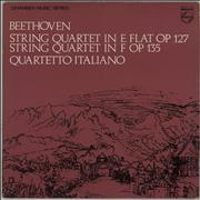 Click here for more info about 'Ludwig Van Beethoven - String Quartet in E flat / String Quartet in F'