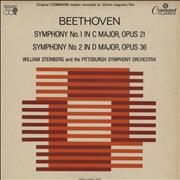Click here for more info about 'Ludwig Van Beethoven - Symphony No. 1 in C Major, Opus 21 / Symphony No. 2 in D Major, Opus 36'