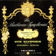 Click here for more info about 'Ludwig Van Beethoven - Symphony No. 1 in C major & Symphony No. 8 in F major'