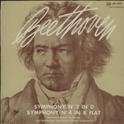 Click here for more info about 'Ludwig Van Beethoven - Symphony No. 2 In D Major / Symphony No. 4 In B Flat Major'