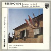 Click here for more info about 'Ludwig Van Beethoven - Symphony No. 2 in D / Symphony No. 4 in B Flat'