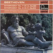 Click here for more info about 'Ludwig Van Beethoven - Symphony No. 7 in A, Op.92 / Symphony No. 8 in F, Op.93'
