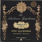 Click here for more info about 'Ludwig Van Beethoven - The Beethoven Symphonies Numbers 1 & 8'
