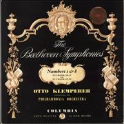 Click here for more info about 'The Beethoven Symphonies: Numbers 1 & 8 - 1st'