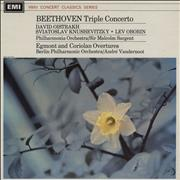 Click here for more info about 'Ludwig Van Beethoven - Triple Concerto / Egmont And Coriolan Overtures'