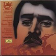 Click here for more info about 'Luigi Nono - Como Una Ola De Fuerza Y Luz / Y Entonces Comprendió'