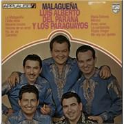 Luis Alberto Del Parana Y Los Paraguyos Malaguena Netherlands vinyl LP