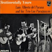 """Luis Alberto Del Parana Y Los Paraguyos Sentimentally Yours EP UK 7"""" vinyl"""