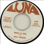 Click here for more info about 'Lula Collins - What Is This'