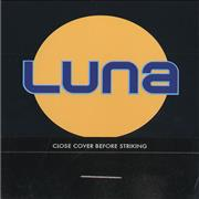 Click here for more info about 'Luna - Close Cover Before Striking'